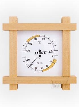 Termometras ir higrometras TFA 08