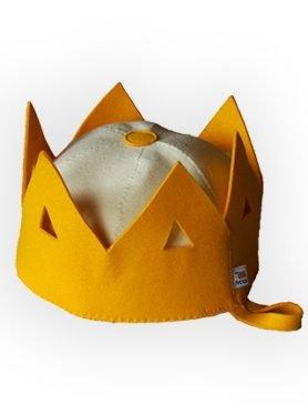 Vilnonė pirties kepurė Karūna