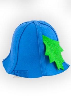 Kepurė iš veltinio su lapeliu