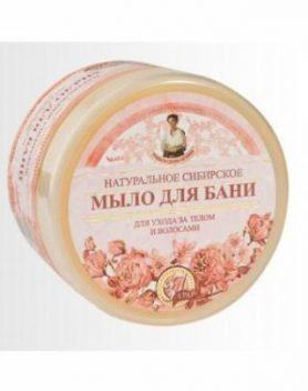 Natūralus Sibiro rožinis muilas