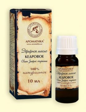 Kedro eterinis aliejus 10ml