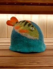 Merino vilnos kepure žuvis