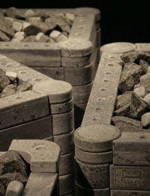 Pirties krosnelės su muilo akmeniu